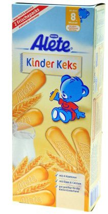 Alete Kinder Kekse - Kinder Cookies - FRESH from Germany
