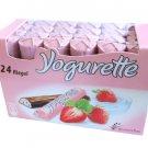 Ferrero Yogurette Strawberry 24 pc / 300g - FRESH from Germany