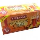 Teekanne New York Chai - 20 tea bags - FRESH from Germany