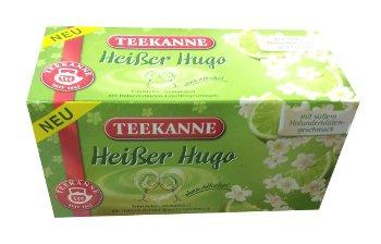 Teekanne Hei�er Hugo / Hot Hugo - 20 tea bags - FRESH from Germany