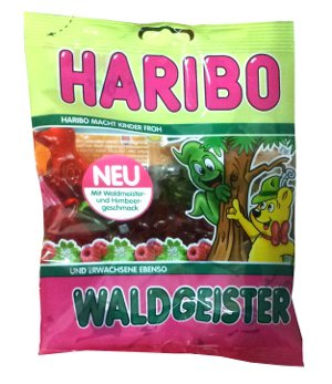 HARIBO ®  - Waldgeister -  Fruit Gums - FRESH from Germany