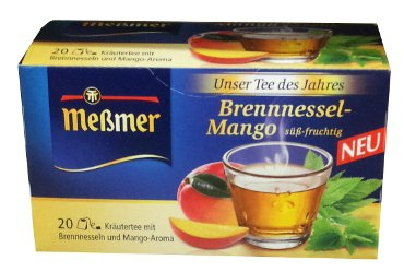 Me�mer Brennnessel-Mango - 20 tea bags - FRESH from Germany