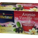 Meßmer Aronia-Vanille - 20 tea bags - FRESH from Germany