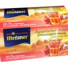 Meßmer Ägyptischer Amun - Granatapfel-Honig - 20 tea bags - FRESH from Germany