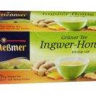 Meßmer Grüner Tee - Ingwer-Honig - 25 tea bags - FRESH from Germany