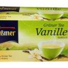 Meßmer Grüner Tee - Vanille - 25 tea bags - FRESH from Germany