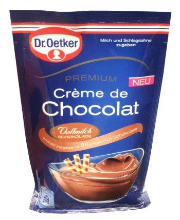 Dr. Oetker Premium Creme de Chocolat - Vollmilch - Dessert - FRESH from Germany