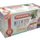 Teekanne Blueberry Muffin - 18 tea bags - FRESH from Germany