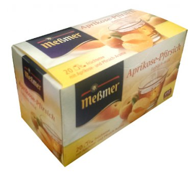Me�mer Aprikose-Pfirsich - 20 tea bags - FRESH from Germany