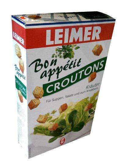 Leimer Bon Appetit Croutons � Kräuter - 100 g  - from Germany- FRESH from Germany