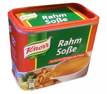 Knorr ® Rahm Sauce / Cream Sauce - Fresh from Germany