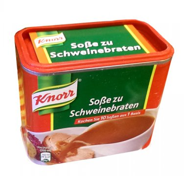 Knorr ® Sosse zu Schweinebraten - Fresh from Germany