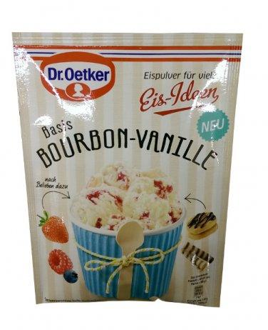 Dr. Oetker Eis-Ideen - Basis Bourbon-Vanille - Ice Cream Helper - FRESH from Germany