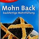 Dr. Oetker Mohn Back - backfertige Mohnfüllung - FRESH from Germany