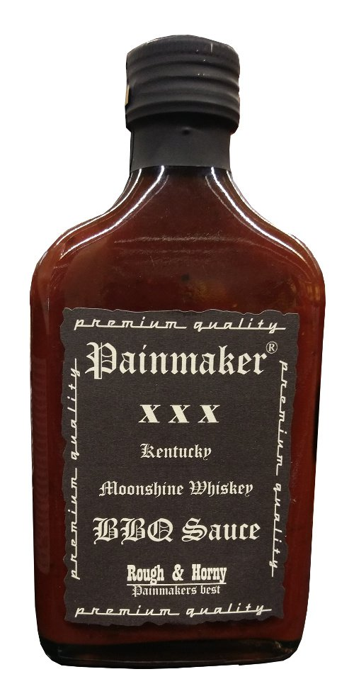 Painmaker - Whiskey BBQ Sauce Rough & Horny - FRESH from Germany