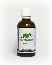 Native Remedies - Worm Dr. for Intestinal Worms and Bowel Health