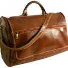 Floto Taormina Italian Leather Duffle in Vecchio Brown