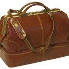 Floto Positano Grande Italian Leather Duffle bag in Vecchia Brown