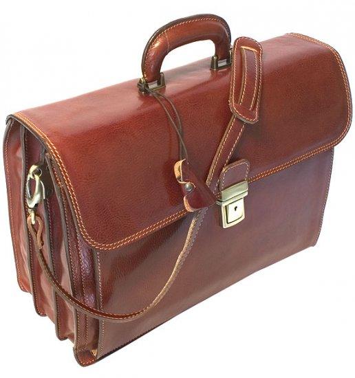 Floto Firenze Briefcase in brown