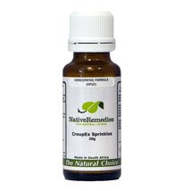 CroupEx Sprinkles Homeopathic remedy temporarily relieves croup and barking cough in babies