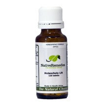 Melancholy Lift Homeopathic remedy temporarily relieves melancholy, sadness, grief and weepiness
