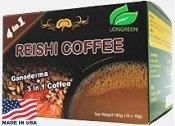 NEW! Reishi 4-IN-1� LOW CAFFEINE (Made In USA)  Cream & Sugar Already Added
