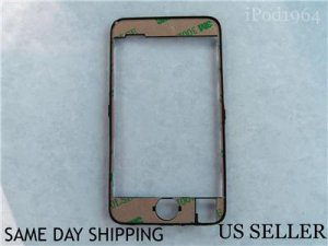 iPod Touch iTouch 2nd Gen Mid Frame Bezel With Sticker