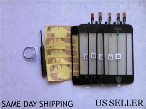 Lot of 5 Digitizer Touch Screen Panel iPhone 3G Repair