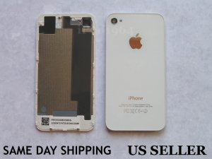 iPhone 4S Replacement White Back Cover Housing