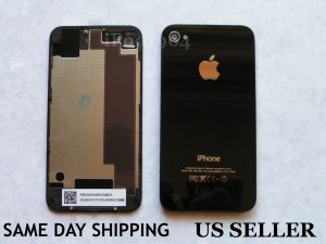 iPhone 4S Replacement Black Back Cover Housing
