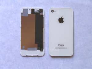New Back Cover iPhone 4 CDMA White