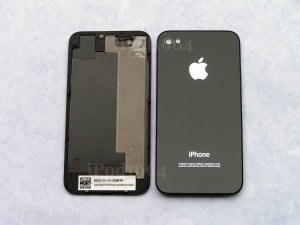 New Back Cover iPhone 4 CDMA Black