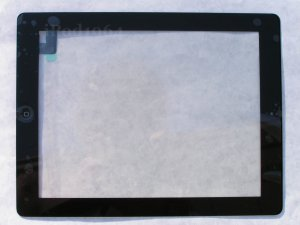 New Replacement Touch Screen Front Glass Digitizer Assembly iPad 2 Black