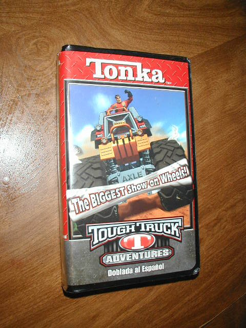Tonka Tough Trucks Adventures VHS in SPANISH - Dobla Al Espanol (2004)