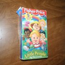 Fisher Price Little People Volume 1 Big Discoveries - VHS 5 charming stories
