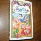 Snow White and the Seven Dwarfs - VHS Walt Disney's Masterpiece Marge Champion