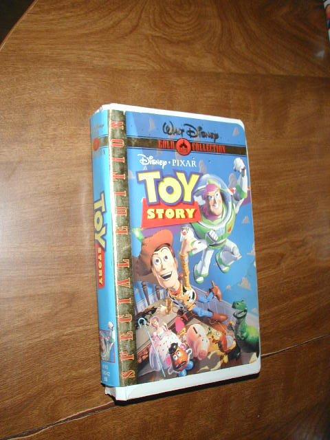 Toy Story - Special Edition - VHS Disney Pixar Tom Hanks Tim Allen Don Rickles