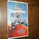 James and the Giant Peach - VHS Walt Disney (1996) Paul Terry Susan Sarandon Richard Dreyfuss