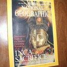 National Geographic Vol. 196 No. 5 November 1999 Inca Sacrifice, Tiger Sharks (G3)