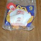 McDonald's Animal Kingdom #9 Lion Figurine (NIP) Happy Meal Toy (GTB1)
