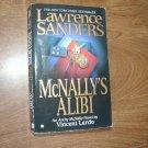 Lawrence Sanders McNally's Alibi - Archy McNally Novel by Vincent Lardo (2003) (WCC2) Mystery
