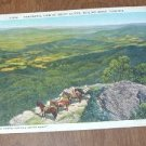 Vintage View of Rocky Cliffs, Skyline Drive, Virginia Postcard