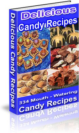 Delicious Candy Recipes cookbook ebook