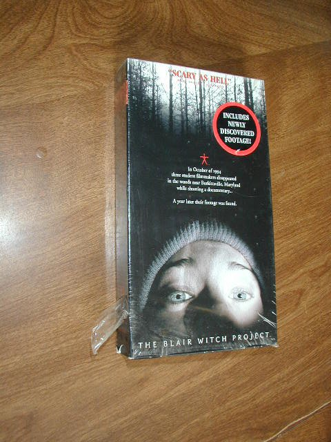 The Blair Witch Project VHS (1999) Heather Donahue Michael Williams Joshua Leonard