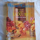 Conde Nast House & Garden Magazine September 1997 Its All About Luxury - A Special Issue (G1)