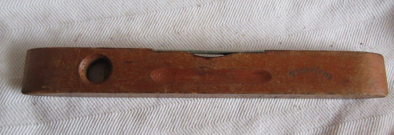 "Vintage Wooden Firestone Level (CMB1) 9"" long x 1"" width"