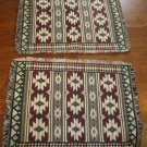 Set of Two Southwest Pattern Table Settings Placemats Mats (WLB1)