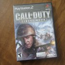 Call of Duty Finest Hour PlayStation2 PS2 DVD (mw)
