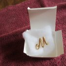 Avon M Brooch - NEW in Box (pb 156)