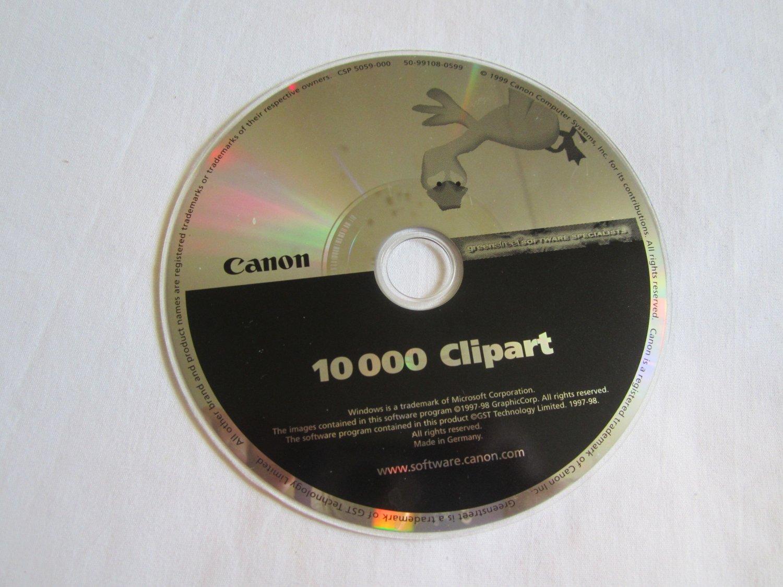 Canon 10,000 Clipart CD ROM